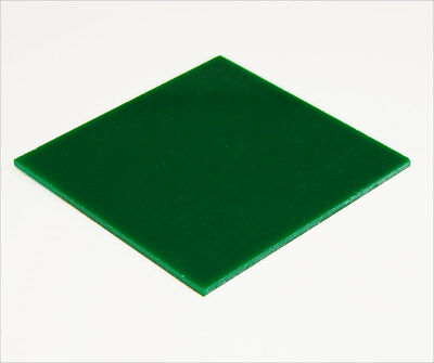 Acrylic Sheet Green Gloss 3mm thickness Perspex CAST UV Rated FREE POST