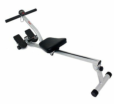 Fitness Rowing Machine Exercise Full Body Workout Monitor Scan Cardo Low Impact