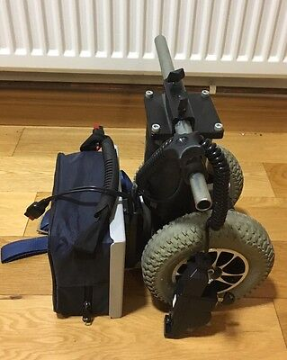 Wheelchair Power pack Motor With Wheels, Battery, Charging Cable, And Controller