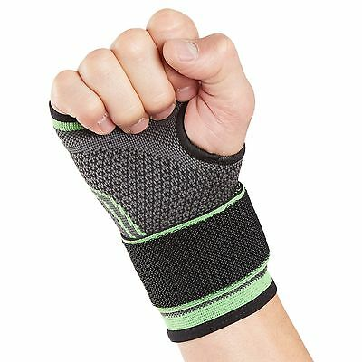 Actesso Sports Wrist & Hand Support Strap - Tennis Golf Gym Squash Bandage Wrap