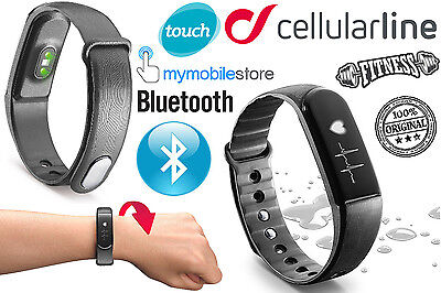 CELLULAR LINE Bracciale Sport EASYFIT TOUCH HR Display BLUETOOTH UNIVERSALE NERO