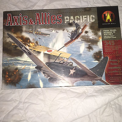 Axis & Allies Pacific Board Game By Avalon Hill