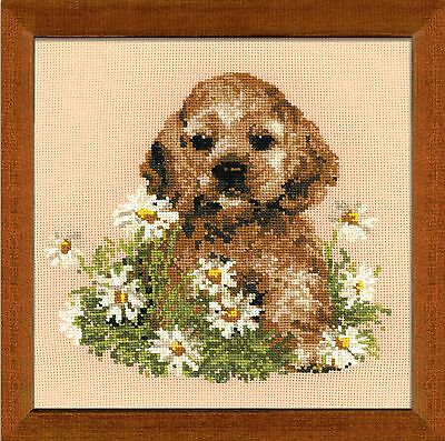 RIOLIS Counted Cross Stitch Kit Tim (Dog) R932