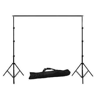 2.8x3m✔Photography✔Heavy Duty✔Photo Studio✔Backdrop Background Support Stand Kit