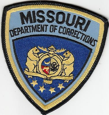 Doc Missouri Department Of Corrections Mo Police Patch
