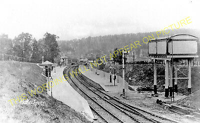 Hallatrow Railway Station Photo. Clutton - Midsomer Norton. Radstock Line. (4)