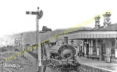 Hallatrow Railway Station Photo. Clutton - Midsomer Norton. Radstock Line. (7)
