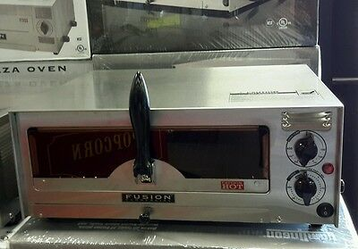 """Fusion Commercial Countertop 12"""" Pizza and Snack Oven 508FCG With Glass Door"""