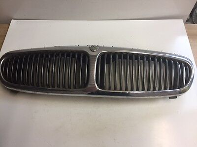 Jaguar X Type 02 Reg 2002 Front Grill Grille with Badge Chrome