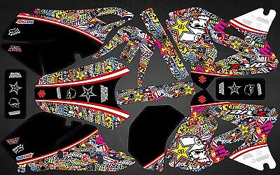 Kit Déco Moto pour / Mx Decal Kit For Suzuki DRZ 400 - BombStick