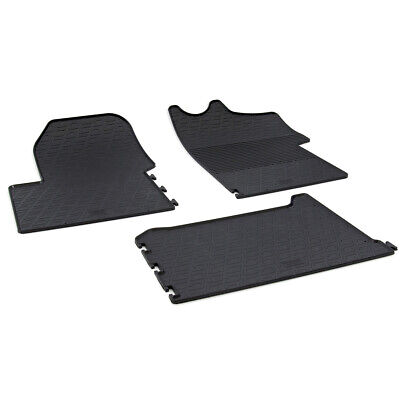 Vauxhall Movano (B) Mk.2 2015 - 2017 Tailored Rubber Moulded Floor Mats Set