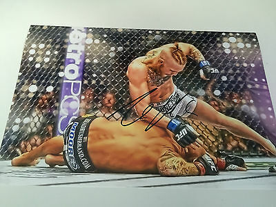 Conor McGregor Signed Autographed Photo COA - UFC MMA  NOTORIOUS IRELAND
