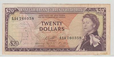 East Caribbean Currency Authority  20 Dollars