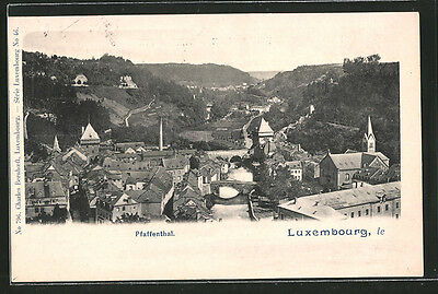 formidable CPA Luxembourg, vue de Pfaffenthal