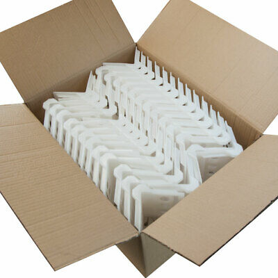 """Cargo Strap Plastic Corner Protectors fits up to 4"""" Straps ( Box of 100 )"""