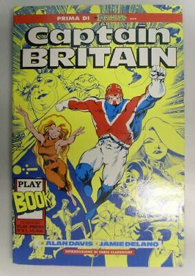 Captain Britain - Alan Devis, Jamie Delano - vol Unico