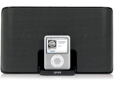 GEAR4 StreetParty III Compact Portable Travel Speaker Dock for iPod / iPhone