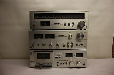 Panasonic Rs-619 Cassette Deck Lw Stereo Tuner St-2700L Amplifier Su2700 (P24)