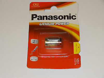 Panasonic Batterie Lithium Photo-Power CR2 3V 1er-Blister 1 Stück