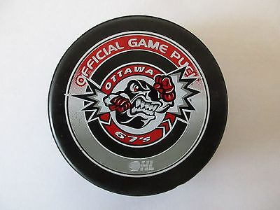 2006 OHL - OHA Ottawa 67's Official Game Puck