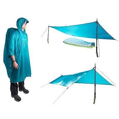 Poncho Tarp Ultra-Sil Nano Sea to Summit bleu - Neuf