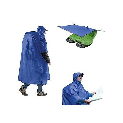 Poncho Tarp Sea to Summit bleu - Neuf