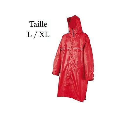 Poncho Cagoule Front Zip Camp Taille L/XL - Neuf