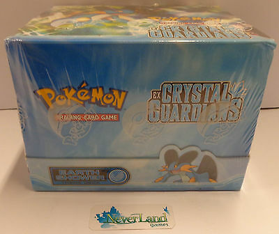 Box Pokemon Inglese Nuovo Sealed Mazzi 8 Earth Shower Deck EX CRYSTAL GUARDIANS