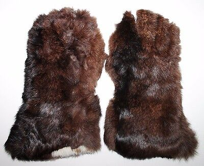 Nice Example of WWII Japanese Pilot Gloves in Fur