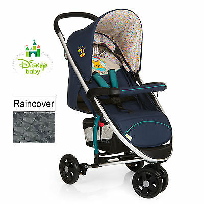New Hauck Disney Pooh Ready To Play Miami 3 Pushchair Baby Jogger Stroller