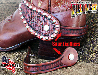 Spur Leathers, wear your spur straps without your spurs, Handmade