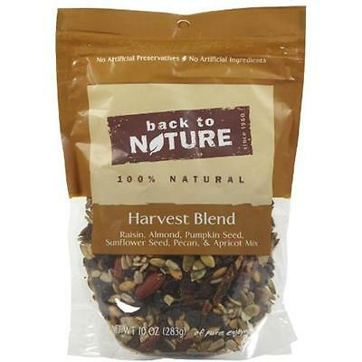 Back To Nature Harvest Blend Trail Mix 10Oz (Pack of 9)