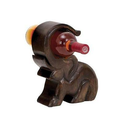 Woodland Import 14420 Design Wood Wine Holder with Great Finesse