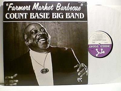 LP, Count Basie Big Band, Farmers Market Barbecue, Pablo 1982, Mint-