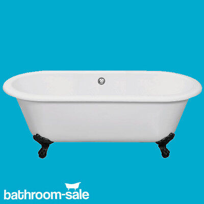 Cambridge Roll Top Freestanding Bath 1690 x 780  Cast Iron Bath Feet RRP £699