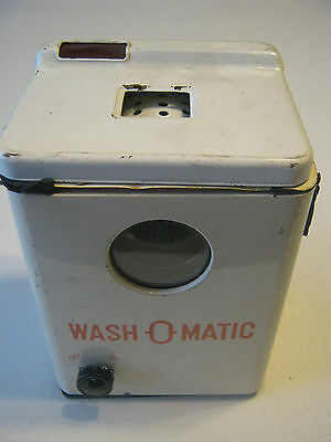 Vintage 1950's Wash-O-Matic Toy Made By T.N. Japan
