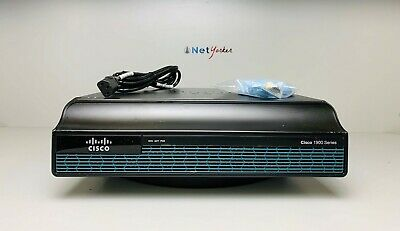 Cisco 1900 Series CISCO1941/K9 Integrated Services Router IP base License