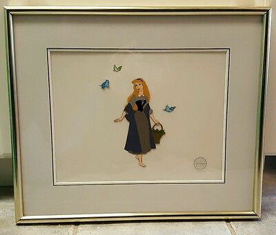 Sleeping Beauty Serigraph / sericel / Cel Framed Limited Edition With Tags