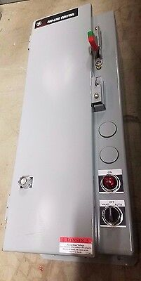 General Electric 300 Line Controller Size 0 30A Fusible Combination Starter 3R