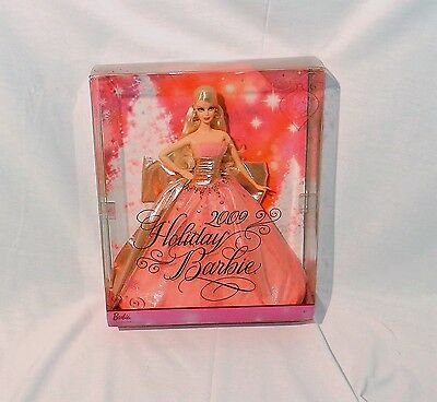 Holiday Barbie 2009 50th Anniversary Pink Dress #6556