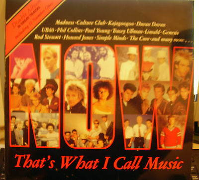 Now Thats What I Call Music Rare Number 1 1983 Virgin Records Vinyl Lp