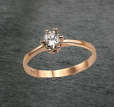 585 Russian Rose 14ct Gold  Engagement Beauty Ring Size L-16.5 Gift boxed