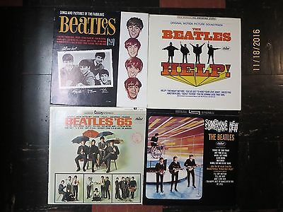 lot of 4 Beatles LPs