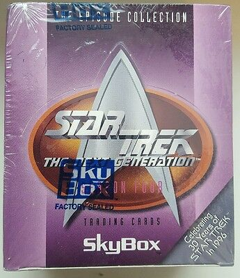 star trek the next generation season 4 trading cards skybox new sealed