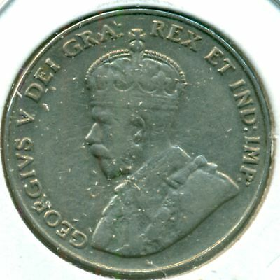 1931 Canada Five Cents, Nice Very Fine, Great Price!