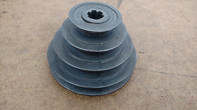 Shopmaster Tools Vintage Drill Press DP-608 Quill Spindle 4 Step V Belt  Pulley
