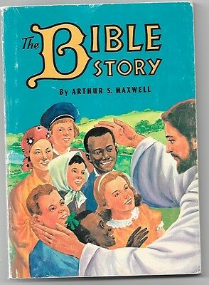 The Bible Story 1957 Arthur Maxwell Jesus Book Special Intro Edition