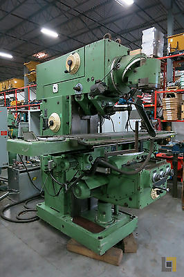 HECKERT 3-Phase Drill Press, 380V, Model FU 400/MCGE 31-OAPUG