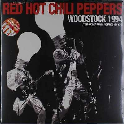 Red Hot Chili Peppers - Woodstock 1994 NEW 2 x LP