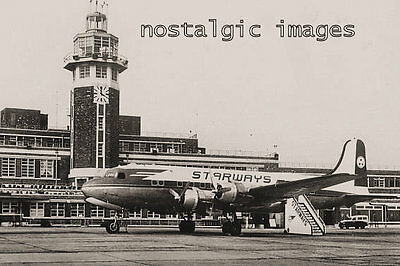PHOTO TAKEN FROM A 1960's IMAGE  OF SPEAK AIRPORT LIVERPOOL
